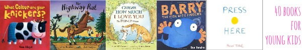 40 books to read before you're 4