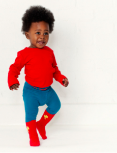 Superhero tights for boys