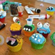 Decorating Monster Cupcakes At BKD London
