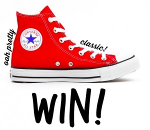 Win a pair of Converse trainers!