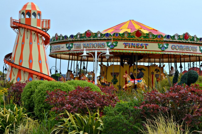 Fairground at Butlins Bognor