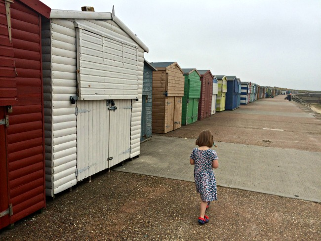 Minnis Bay beach huts