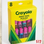Crayola colours... for your nails!