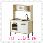 This IKEA toy kitchen is made of win
