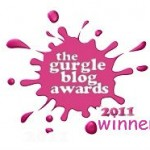 Check me out! I won a Gurgle Blog Award!