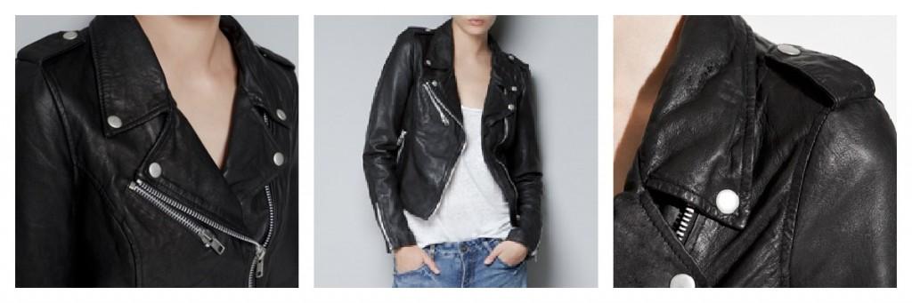 Zara leather jacket, Alice More Than Toast, A/W12 fashion