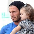 David Beckham, please never put Harper Beckham down. Ever. Thanks.