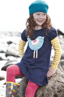 boden fun logo dress, mini Boden, toddler fashion, boden dress