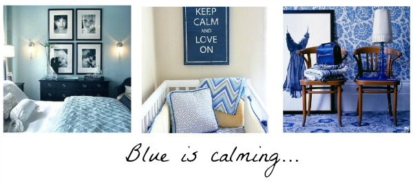 you should totally paint your bedroom blue and definitely