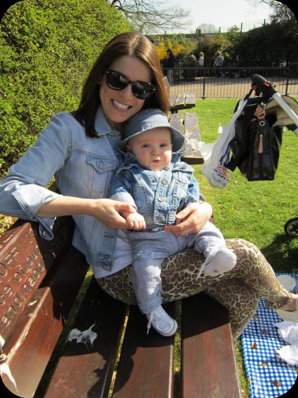 Abbie Pethullis, new mum style tips