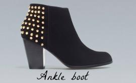 Cherry Healey, fashion, Zara ankle boot