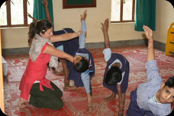 India, yoga, yoga for children, spiritual journey, 12 mums of Christmas, Fiona Gillott