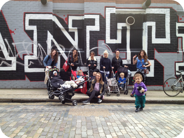 Jenny Scott, how to meet other mums, East London mums