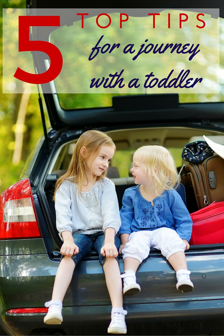 Advice from a mum who's been there - 5 top tips on how to survive a journey with a toddler!