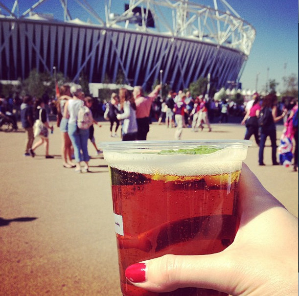 Pimms, Olympic Stadium, London 2012