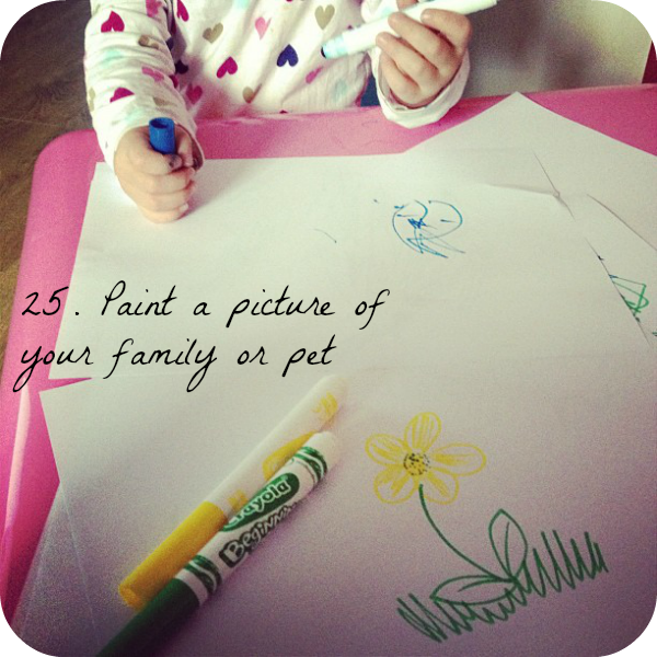 Toddler drawing, 30 Things To Do Before You're 3