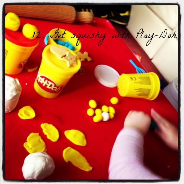 Toddler, fun, PlayDoh, 30 Things To Do Before You're 3