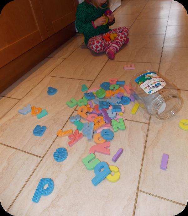 Bathtime Buddies alphabet letters review