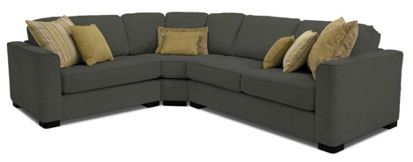 Grey corner sofa from Furniture Village