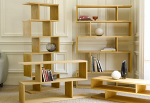 Conran shelving units from Furniture Village