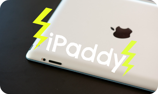 iPaddy, iPad tantrum
