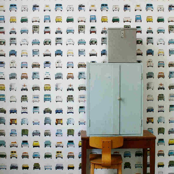 Boys' wallpaper cars