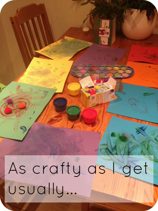 Easter crafts with toddlers