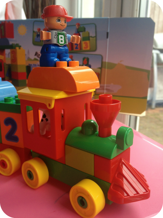 Number Train by Lego Duplo