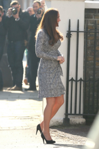 Media attention on Kate Middleton