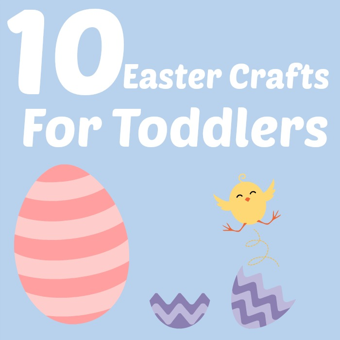 Easy Easter crafts for toddlers and pre-schoolers