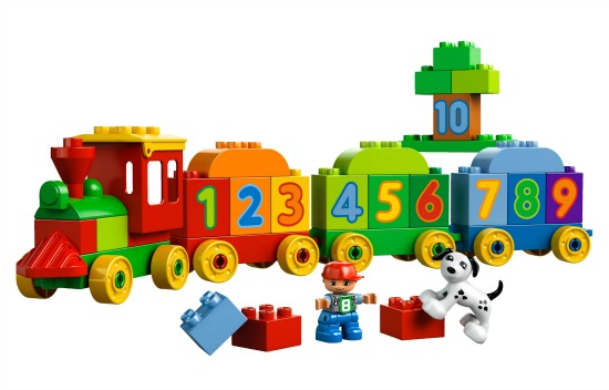 Toy Train from Lego Duplo
