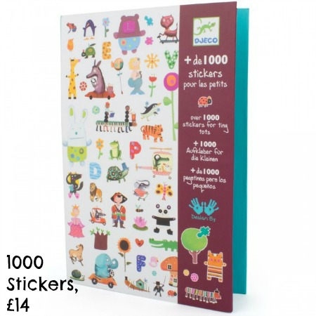 1000 Stickers for toddlers
