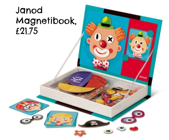 Janod Magnetibook for toddlers