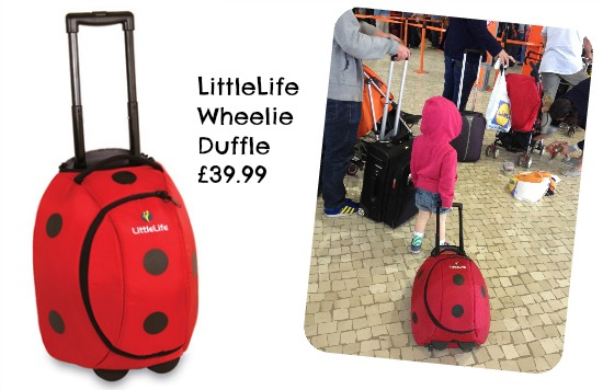 LittleLife Wheelie Duffle review