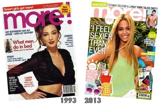 Closure of More! magazine UK