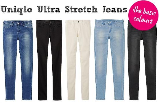 Uniqlo jeans are so flattering