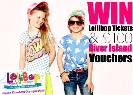 Win a family ticket to Lollibop and River Island vouchers