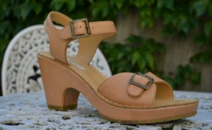 Tan Sandals From Clarks Shoes