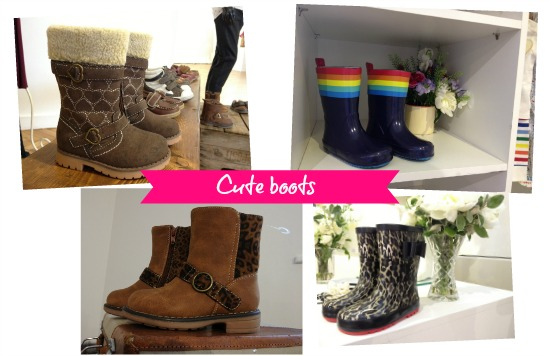 Boots from Mothercare autumn 2013