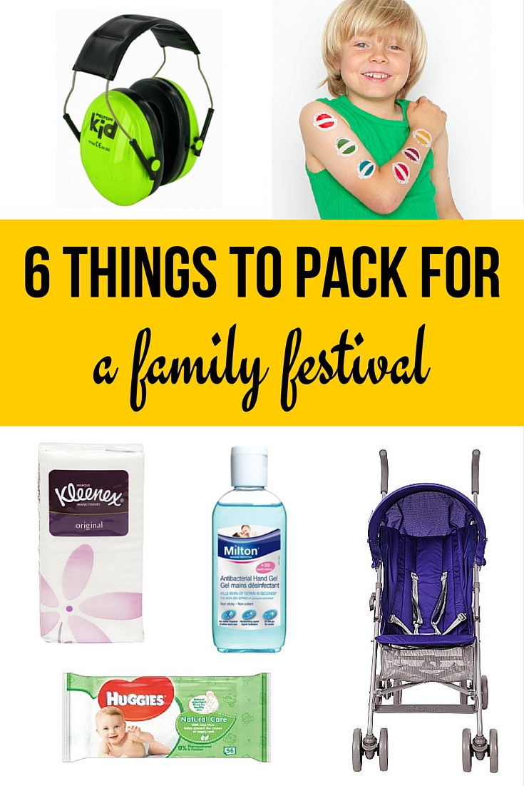 6 things you must pack for a family festival