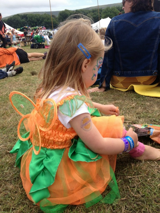 Camp Bestival fairy tutu costume
