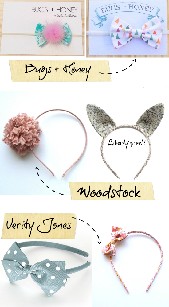 Cute kids' hair accessories
