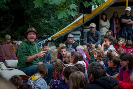 Camp Bestival Story Den