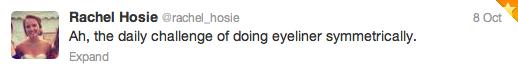 Rachel Hosie tweet