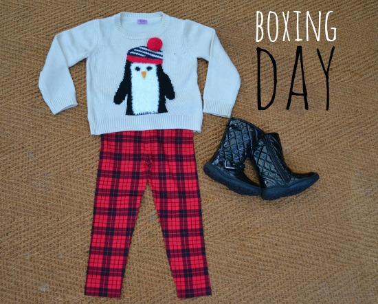 Boxing Day outfit from Tesco