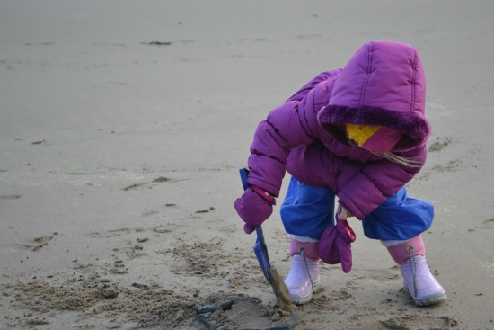 Taking kids to the seaside in Winter