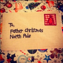 Letter To Father Christmas
