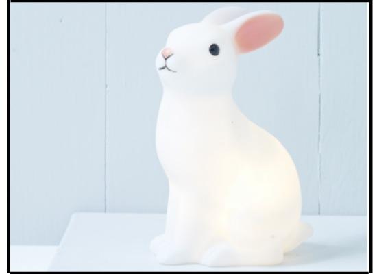 Rabbit night light for kids