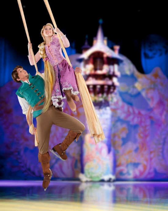Rapunzel, Disney On Ice