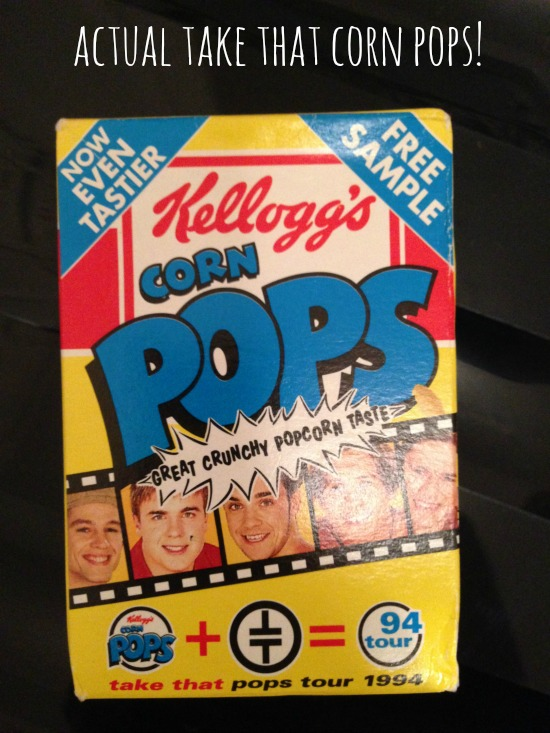 Kellogg's Corn Pops - Take That promo packet